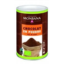 Chocolat en poudre 32% Bio MH Monbana