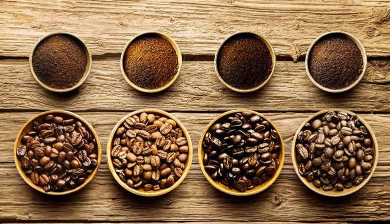 Grains de cafés