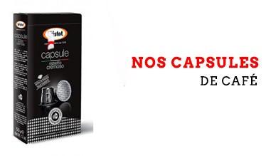 Nos capsule de café