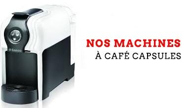 Nos machins à café capsule